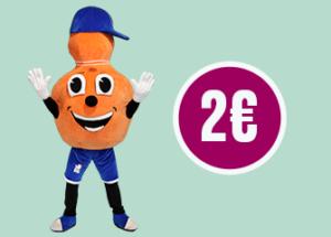 MENU KID à 2€ *
