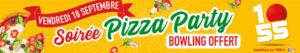 Pizza Party vendredi septembre